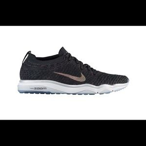 Nike Air Zoom Fearless Flyknit Metallic Black NIB